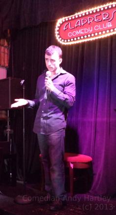 Comedian Andy Hartley