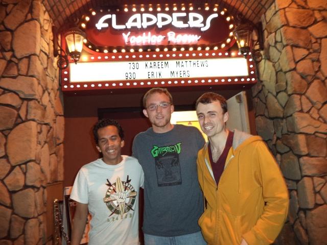 Ed, Nathanael, & Andy Hartley
