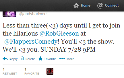 @FlappersComedy @andyhartweet
