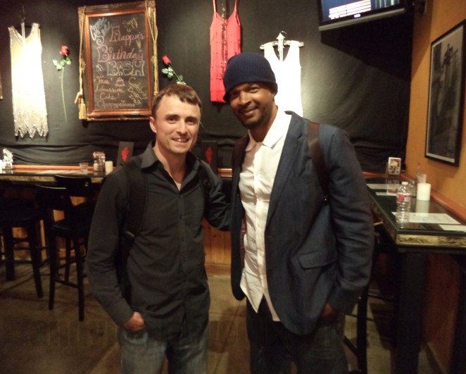 Legendary Damon Wayans with Andy Hartley