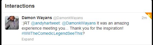 Damon Wayans retweet