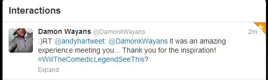 Damon Wayans retweet