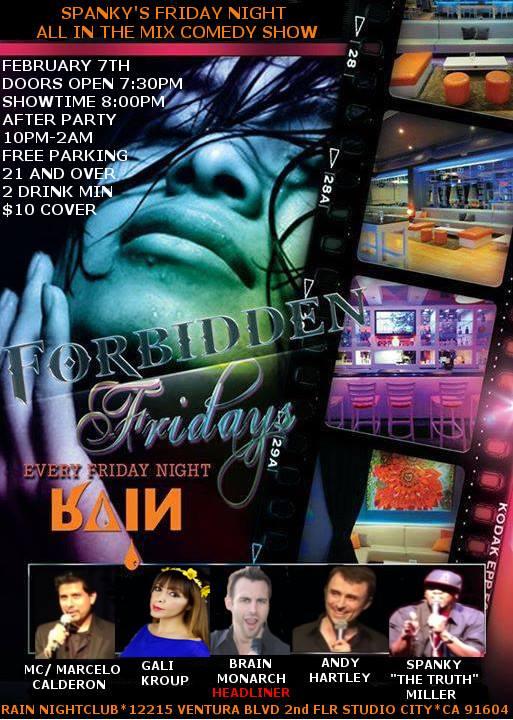 Rain Nightclub w/ Headliner BRIAN MONARCH!