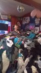 Comedy In Pile Show at $2 Clothing Store