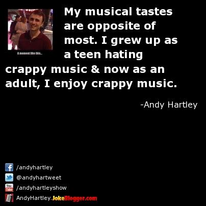 Opposite Musical Tastes