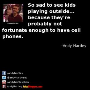 Sad to see kids...