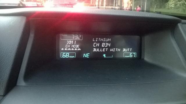 Interesting song title on XM Radio.